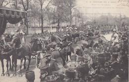 Evènements - Réception King Edward VII Paris  - Gare Des Invalides - Militaria - Attelage - Réceptions