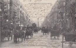 Evènements - Réception Souverains Italie Paris  - Immeubles Avenue De L'Opéra Grands Boulevards - Attelages - Réceptions