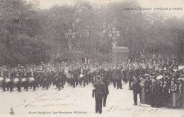 Evènements - Réception Souverains Italie Paris  - Militaria Musique Militaire Porte Dauphine - Réceptions