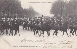 Evènements - Réception Souverains Italie Paris  - Militaria - Cuirassiers Cavalerie - Réceptions