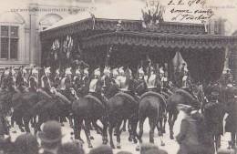 Evènements - Réception Souverains Italie Paris  - Militaria - Cuirassiers Cavalerie Hôtel De Ville - Réceptions