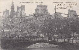 Evènements - Réception Souverains Italie Paris  - Hôtel De Ville Pont D'Arcole - Réceptions