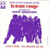 "B-O-F  Ennio Morricone  ""  La Tente Rouge  "" - Filmmusik"