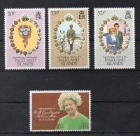 FALKLAND  Timbres Neufs** De 1980 / 1981    ( Ref 2752 ) Famille Royale - Falkland