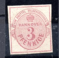 HANOVRE.  AÑO 1859.  Mi 13 (USED) - Hannover