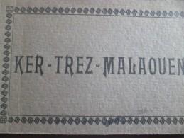 Carnet CPA Finistère Ker Trez Malaouen - Francia