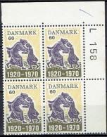 DENMARK  # FROM 1970  BLOCK  OF 4 :  L 158** - Nuovi