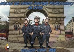 CALENDRIER 2016 SAPEUR POMPIER DE DIJON - Calendriers