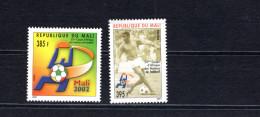 8372 Mali MI 2580-2581 ** Fußball ,Football - Mali (1959-...)