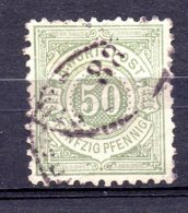 WURTEMBERG.  AÑO 1875 .  Mi 51 (USED) - Wurtemberg