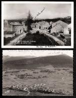 LOT 2 CPA-PHOTO- VASSIEU-EN-VERCORS(26)-  283 H.- RUINES DE JUILLET 1944 ET VILLAGE RECONSTRUIT VUE AÉRIENNE 1951- - Francia