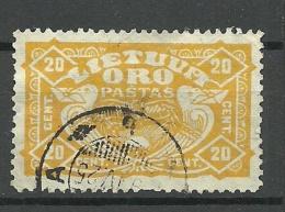 LITAUEN Lietuva Lithuania 1924 Michel 224 O - Lithuania