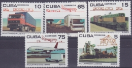 2003.119 CUBA MNH 2003. MULTIMODELISMO. AVION RAILDOAD FERROCARRIL - Ongebruikt