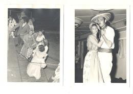 CONGO BELGE Lot De 5 Photos ( 13 X 18 Cm) Croisière - Show Boot En Mars 1957 à Bord De L' OLSEN  (b184) - Places