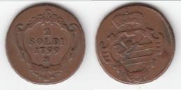 **** ITALIE - ITALIA GORIZIA - 2 SOLDI 1799 S FRANZ II **** EN ACHAT IMMEDIAT !!! - Regional Coins
