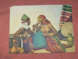 NICE ADIA / PHOTOCHROME 1900 / NUDITE MAURESQUE / ORIENTALISME  NUDE  /  FORMAT 22X17 CM - Afrique
