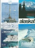 20 Cartes Modernes + 1 Petit Calendrier   -   Antarctica  - Antarctique - Alaska - Postcards