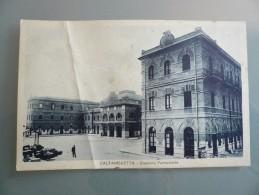 Caltanissetta - Stazione Ferroviaria - Viaggiata 1930 - Trento