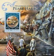 SIERRA LEONE 2016 - World War II: Pearl Harbor S/S. Official Issue. - Rudersport