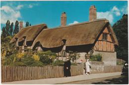 ANNE HATHAWAY'S COTTAGE, SHOTTERY, STRATFORD-UPON-AVON WARWICKSHIRE. - Stratford Upon Avon