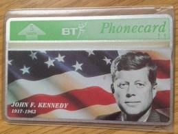 Very  Early British Telecom Card: 5 Units  John F Kennedy -  Mint Condition - Ver. Königreich