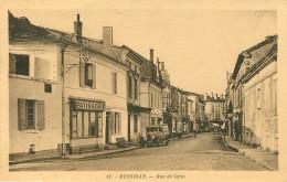 Dép 24 - Voitures - Automobile - Patisserie - Mussidan - Rue De Lyon - Patisserie à Gauche - état - Mussidan