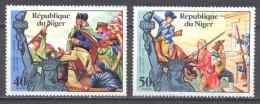 Niger YT N°356/357 Indépendance Des Etats-Unis Neuf ** - Niger (1960-...)