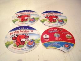 Etiquettes (3) Boite De Fromages La Vache Qui Rit + Intercalaire- Nouveau - Cheese
