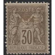 Frankreich 1881 Allegorien 64 II Mit Falz - 1876-1898 Sage (Type II)