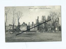 CPA  Souple   -  Corbie  En 1918  -  La Place De La République - Corbie