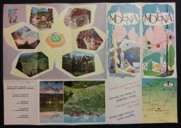 """05278 """"MOENA (TN) M. 1200 - DOLOMITI"""" ORIGINALE - Tourism Brochures"""