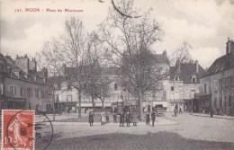 21 DIJON  Coin De La VILLE  ENFANTS Sur La Place MORIMONT Timbre 1908 - Dijon