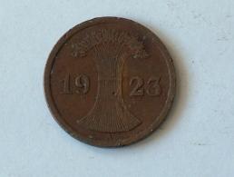 Allemagne 2 Pfennig 1923A 1923 A - [ 3] 1918-1933 : Weimar Republic