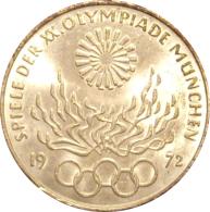 ALEMANIA. 10 MARCOS JUEGOS OLÍMPICOS DE MUNICH. 1.972. PLATA. GERMANY. DEUTSCHLAND - [ 7] 1949-… : RFA - Rep. Fed. Alemana