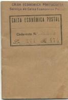 Portugal - Caderneta Dos Correios - Caixa Económica Postal - 1936/1937 - Documenti Storici