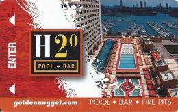 Golden Nugget Casino Hotel Room Key Card Atlantic City NJ With Web Address - Hotel Keycards