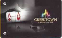 Greektown Casino Detroit, MI Hotel Room Key Card - Hotel Keycards