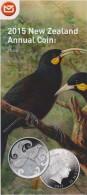 New Zealand 2015 Brochure About Annual Coin - Huia - Bird - Materiaal
