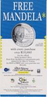 South Africa Brochure About The Silver Medallion 'mandela Free' - Materiaal