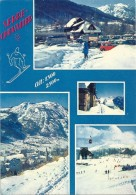 MULTIVUES DE SERRE-CHEVALIER AFFR AU VERSO LE 20-2-1982 + 2CV - MINI AUSTIN + CAR +++.2 SCANES - Serre Chevalier