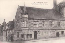 Cp , 27 , VERNEUIL , Vieilles Maisons ,  Rue Du Canon - Verneuil-sur-Avre