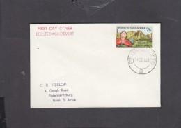 S.Africa: Kirstenbosch 2 1/2c, First Day Cover,  PIETERMARITZBURG 6 .. 14 III 63, C.d.s. - FDC