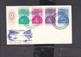 Malawi Christmas 1964, First Day Cover,BLANTYRE PHILATELIC BUREAU 1 DEC 1964 , C.d.s. - Malawi (1964-...)