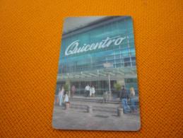 Ecuador Quito Quicentro Hotel Room Key Card - Hotel Keycards