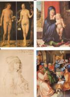 Albrecht Dürer (1471-1528), A Painter Of The German Renaissance. 39 Postcards - Pittura & Quadri