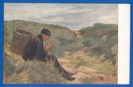 Malerei; Liebermann Max; Mann In Der Dünen; Museum Leipzig - Pittura & Quadri