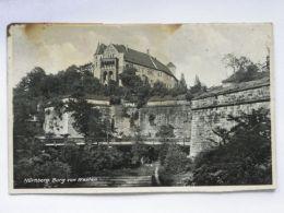 Burg   Nurnberg /     Old Postcard    / 2 Scan - Nuernberg