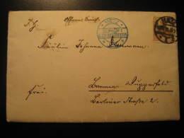 1916 METZ Gepruft Censor Censored Cancel WW1 Militar Cover Germany Deutsches Reich - Briefe U. Dokumente