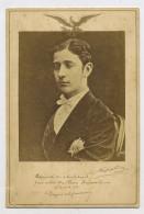 PHOTO ORIGINALE (9x11) PAPIER ALBUMINÉ SUR CARTON - NAPOLÉON III JEUNE - Anciennes (Av. 1900)
