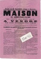 VP4299 - Affiche - Vente D'une Maison & Dépendances Située à BEAUNE , Faubourg Madeleine - Posters